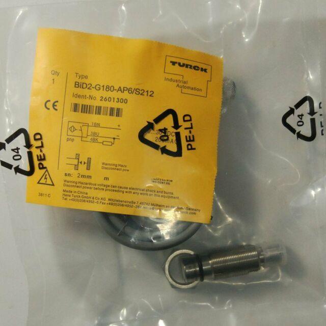 1PCS NEW TURCK BID2-G180-AP6//S212 PROXIMITY SWITCH FREE SHIP