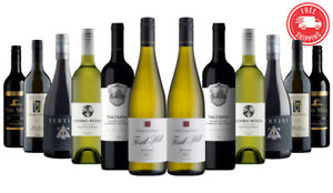 2200-SOLD-AU-Red-Wine-amp-White-Mixed-12x750ml-5-Star-Winery-Free