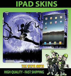 Details about iPad 2 3, 3G, 4G & WIFI Vinyl Sticker MOONLIGHT GOTHIC FAIRY  WINGS GRAPHIC Skin