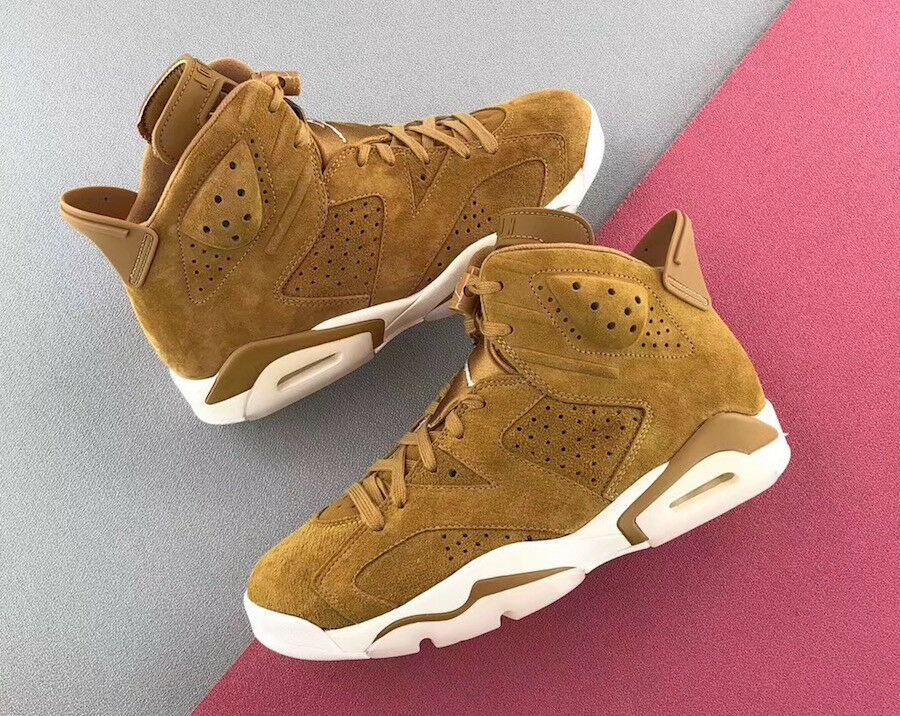 "Air Jordan 6 golden Harvest ""Wheat"" - 384664-705 Size 15"