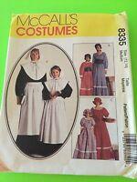 Mccall's Costumes Pattern 8335 Pilgrim And Pioneer Women