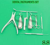 Dental Instruments Set Of 08 Pcs