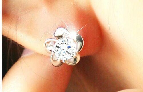Plata esterlina 925 Cubic Zirconia Collar Colgante Y Aretes Pendientes Set ** ** Reino Unido
