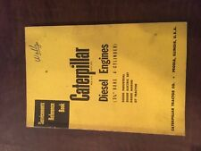 Cat Caterpillar Diesel Engine Servicemens Reference Book Manual 4 Cyl 5 34