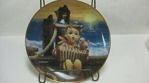 Let's Sing Douce Amis Hummel Plaque Collection Le #1950 Par Danbury Mint 1991