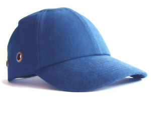 d21306d158b33 Safety Baseball Cap Hard Hat Bump Cap Royal Blue Vented Velcro ...