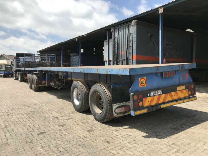 Super links flat deck trailers for rent