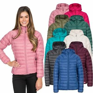 Trespass-Trisha-Womens-Lightweight-Down-Jacket-Puffer-Coat-with-Hood