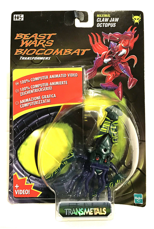 Transformers Beast Wars Transmetals vert Claw Jaw and VHS-Tape Ultra  Rare nouveau  100% garantie d'ajustement