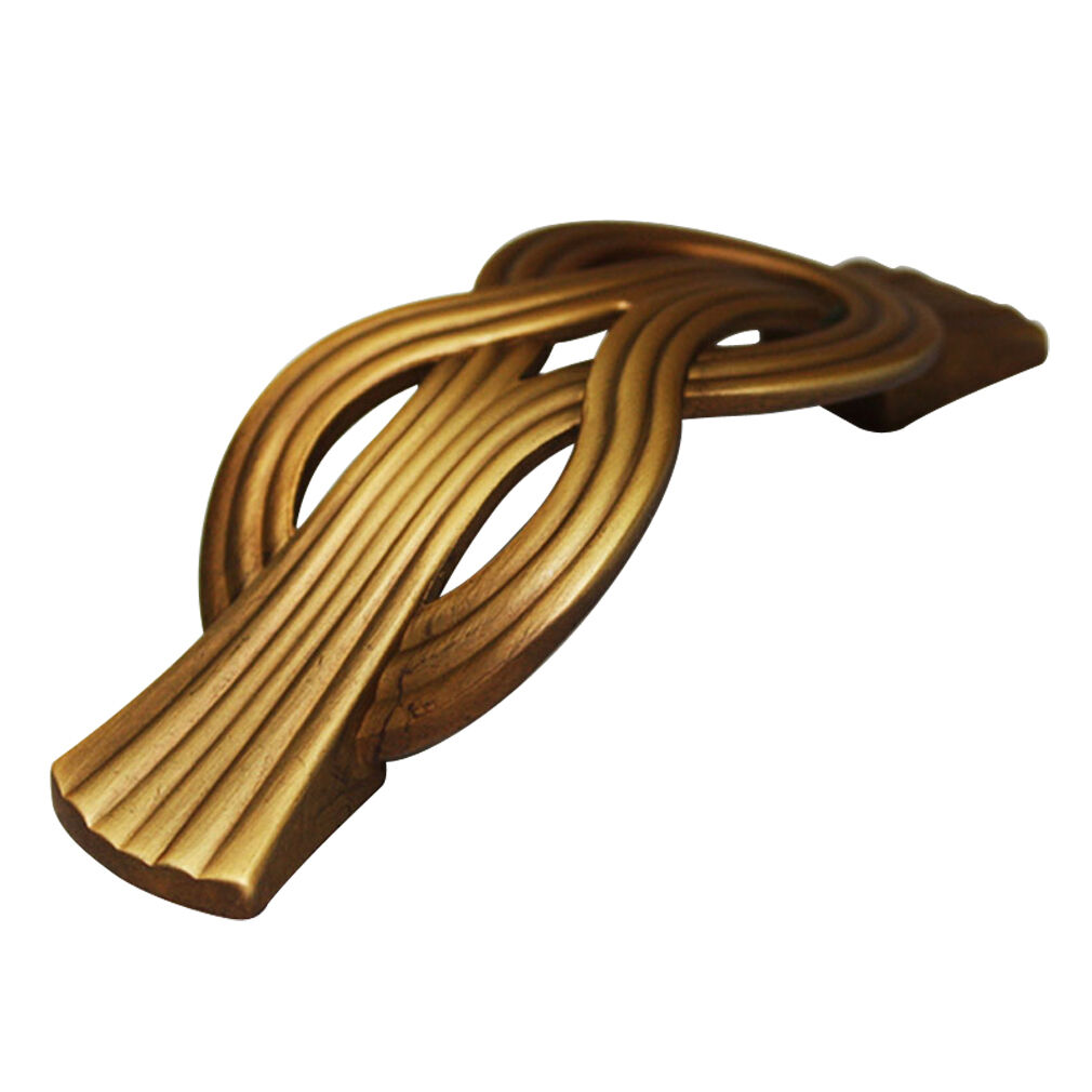 10 pcs Bronze Metal 64mm Handles Furniture Door Wardrobe Cabinet Pull HY-0023