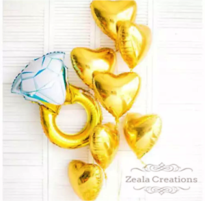 Bridal-Shower-Kitchen-Tea-Engagement-Party-Decorations-Balloons-Bouquet-Proposal