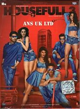 Housefull 3 (Hindi DVD) (2016) (English Subtitles) (Brand New Original DVD)