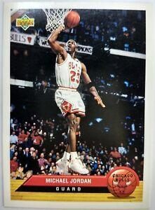 1992-92-93-Upper-Deck-McDonald-039-s-Michael-Jordan-P5-Promo-Insert-Chicago-Bulls