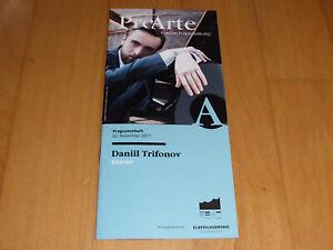 Elbphilharmonie Hamburg Programm DANIIL TRIFONOV Mompou/Schumann/Grieg/Barber - Hamburg, Deutschland - Elbphilharmonie Hamburg Programm DANIIL TRIFONOV Mompou/Schumann/Grieg/Barber - Hamburg, Deutschland
