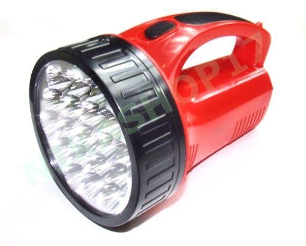 TORCIA A 19 LED LUCE LAMPADA RICARICABILE DA CAMPEGGIO CAMPEGGIO CAMPEGGIO LAVORO PESCA 4584b9