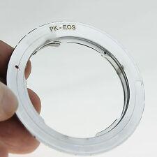 Pentax K Lens to Canon EOS EF Mount PK Adapter 600D 1000D 1100D 550D 7D 50D Cam