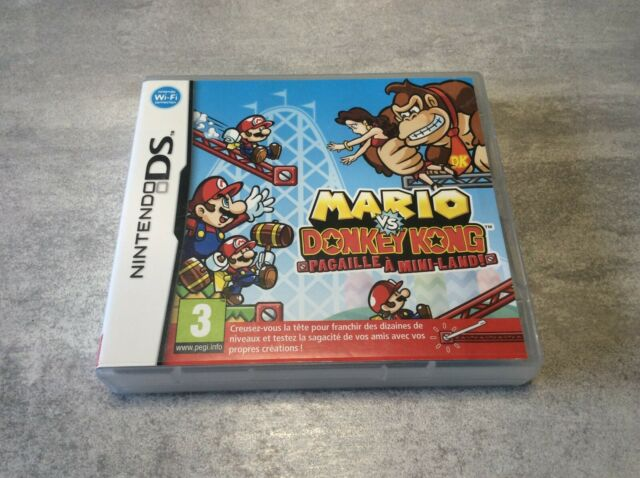 DS Mario Vs. Donkey Kong Pagaille A Mini-Land ! NINTENDO PAL EUR FR COMPLET