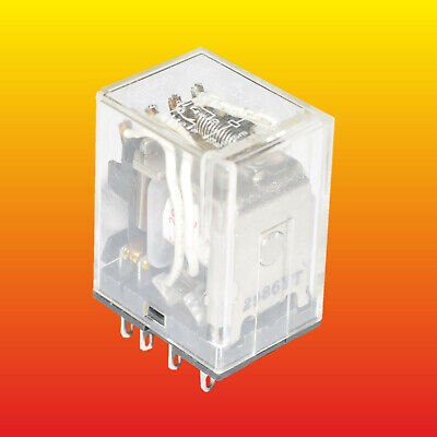 1pcs my4-in-220//240ac Electromagnetic Relay 4pdt ubobina 230vac 5a//220vac 5a//24v