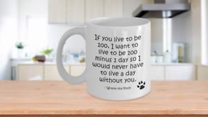 love gifts ideas for women men winnie the pooh coffee tea cup Pooh bear mug