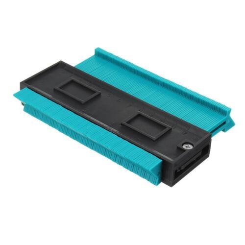 5inch Profile Copy Contour Gauge Standard Wood Marking Pipe Tiles Laminate Tool