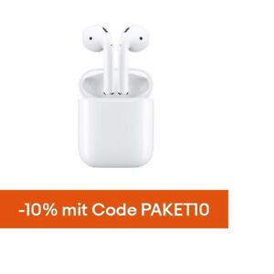 Apple Airpods Bluetooth Kopfhörer MMEF2ZM/A weiß In-Ear Ohrhörer Headset