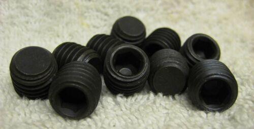 10 pcs M12-1.75 X 12mm DIN 913 Set Screws Metric Flat Point Allen Hex Soc Head