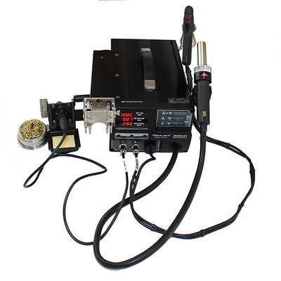 BK 8000 desoldering rework soldering station with hot air gun and irons - UK Co.