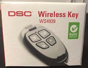 Mode 2019 Brand New Dsc Ws4939 Sans Fil 4 Boutons Télécommande Alarme Keyfob, Batterie Incluse-afficher Le Titre D'origine
