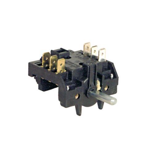 Universal Sélecteur Commutateur ELECTROLUX Juno 1250220875009 Four 2 broches