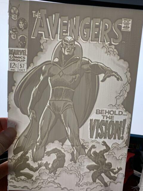 The Avengers 57 Lithophane