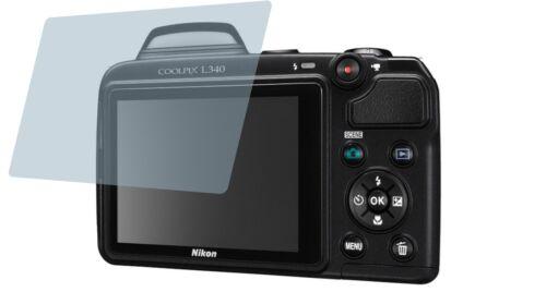 película protectora cc protector pantalla protector de pantalla 4x Nikon Coolpix l340