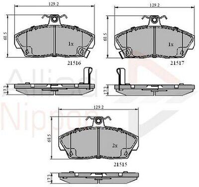 Allied Nippon Front Brake Pad Set ADB0715 BRAND NEW 5 YEAR WARRANTY