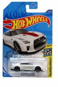 R35 /'17 Nissan GT-R 2020 Hot Wheels Speed Graphics #137