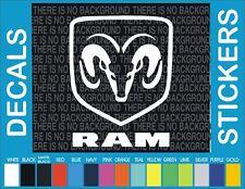 """5"""" Dodge Ram Mopar racing Truck Car window decal sticker"""
