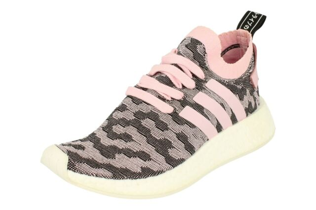 a036d4643 adidas NMD R2 PK W By9521 Rosa Primeknit Trainers Shoes Originals ...
