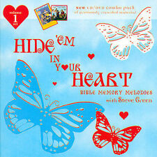 Hide 'Em In Your Heart: Bible Memory Melodies Vol. 1 by Steve Green (Gospel) (CD, Apr-2005, Sparrow Records)