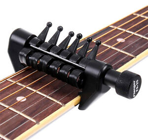 capo open tuning for acoustic guitar strings like a spider ebay. Black Bedroom Furniture Sets. Home Design Ideas