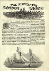1845-Thames-Yacht-Club-Match-Primadonna-Rounding-Buoy-At-Erith