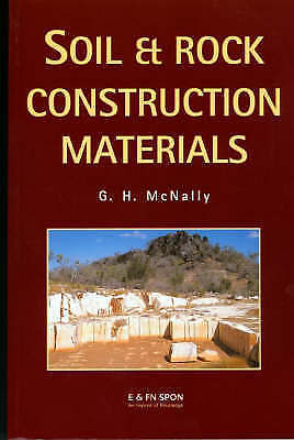 Soil and Rock Construction Materials by Greg McNally (Paperback, 1998)