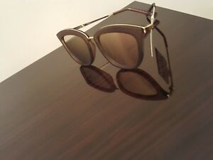 3adef0f68d76f LE SPECS  Caliente  Sunglasses in Matte Mocha Brown   Peach-Purple ...