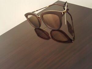 6422362d89b2 LE SPECS  Caliente  Sunglasses in Matte Mocha Brown   Peach-Purple ...