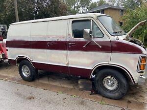 1979 Dodge Ram Van shorty