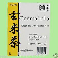 GENMAICHA 3 Bags x 2.2 Lbs BROWN RICE GREEN TEA YAMAmotoYAMA