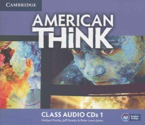 American Think Level 1 Class Audio CDs (3), Lewis-Jones, Peter,Stranks, Jeff,Puc