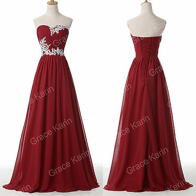Sweetheart Long Prom Dresses Evening Party Ball Gowns Formal Dresses Bridesmaid
