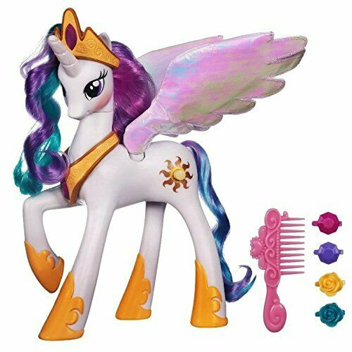 My Little Pony Pony Pony A0633 Princess Celestia ELECTRONIQUE  Sound & Light effects New c7f4ec