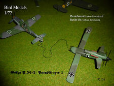 Gotha P.56-2 Parasitjäger 1    1/72 Bird Models Resinbausatz / resin kit