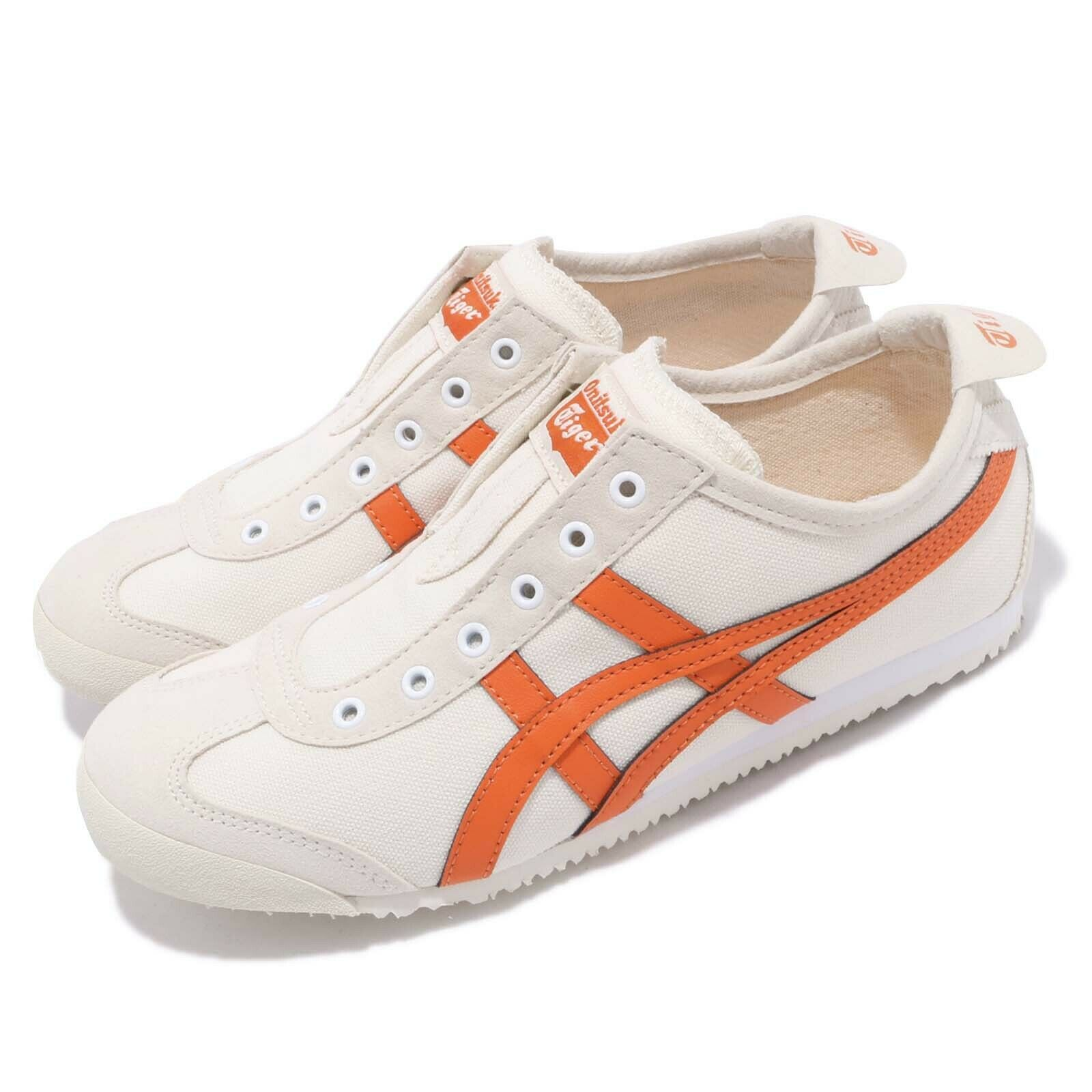 Asics Onithuka Tiger Mexico 66 Slip On Birch orange Men Women shoes 1183A360-202