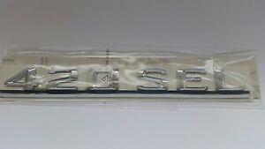 Genuine Mercedes-Benz W126 420SEL  Rear trunk badge logo emblem A1268172015