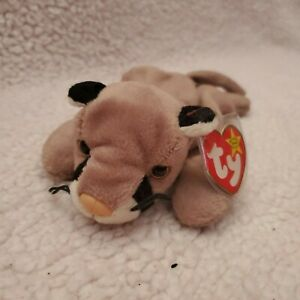 Ty Beanie Baby Canyon the Cougar From 1998 Retired With Tags No Errors